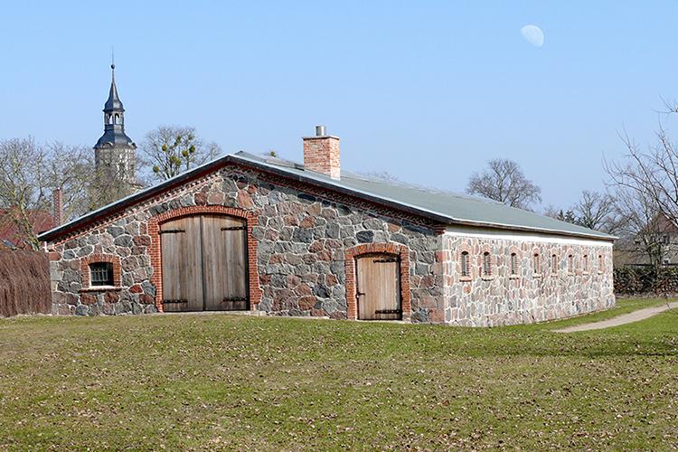 Scheune Jagdschloss Kotelow