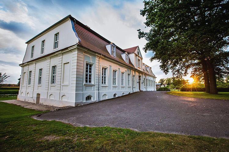 Dämmerung Jagdschloss Kotelow