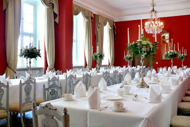 Speisesaal Schloss Kotelow